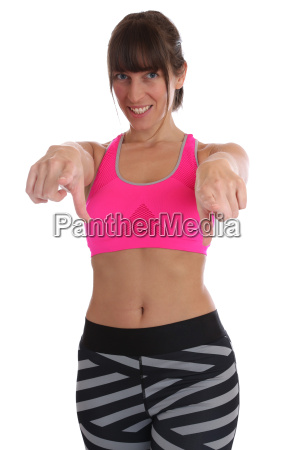 fitness woman at sport workout training