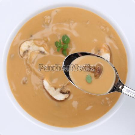 healthy food mushroom soup eat mushroom