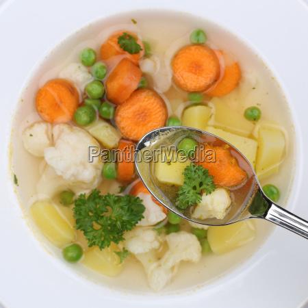 healthy food vegetable soup vegetable soup