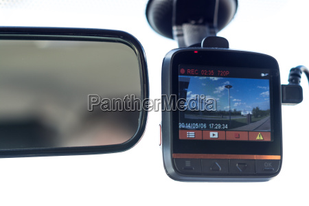 recording car camera on the front