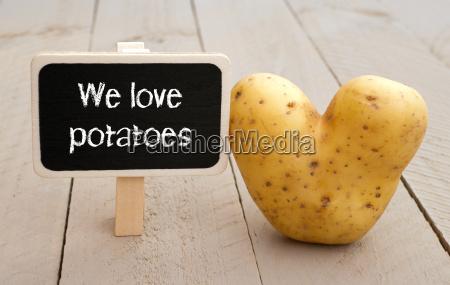 we love potatoes