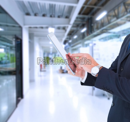 composite image of businessman in suit