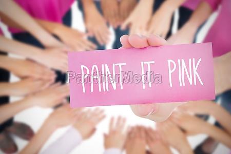 paint it pink against oktoberfest graphics