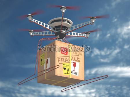 lieferung via drone