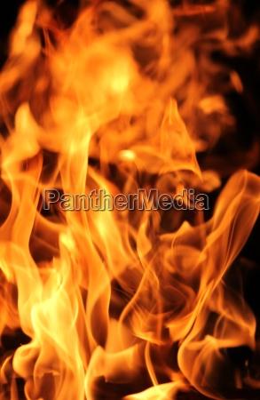 feuer und flammen schwarz bacground