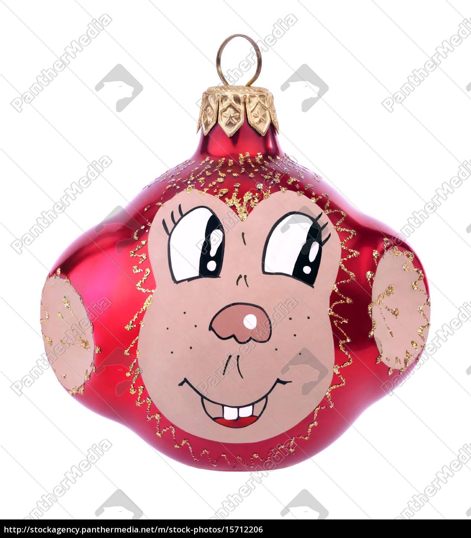 Symbol Weihnachtsbaum.Stockfoto 15712206 Weihnachtsbaum Spielzeug Affe Spielzeug Symbol Des Jahres