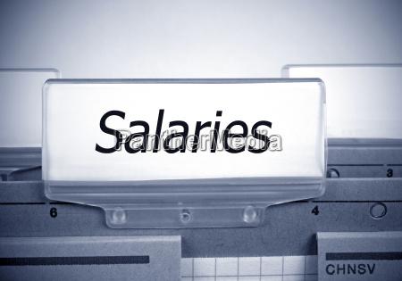 salaries folder register index