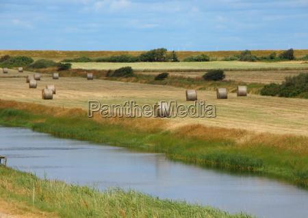 horizont industrie landwirtschaft ackerbau feld sommer