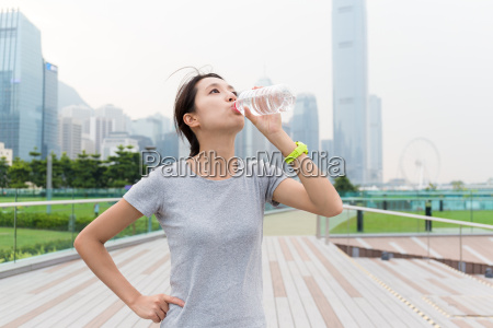 asian woman woman drink of the