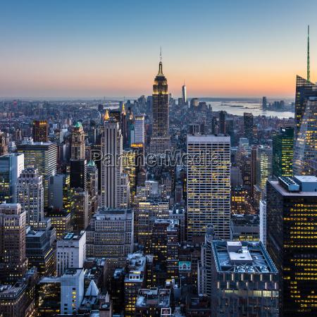 new york city manhattan innenstadt skyline