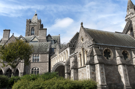 christ church cathedral in dublin irland