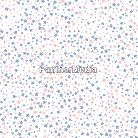 rose quartz and serenity star seamless