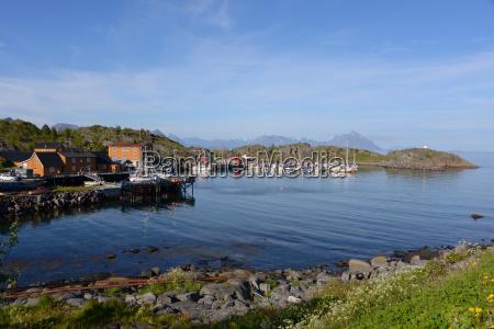 stamsund on the lofoten islands