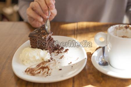 einnahme schokoladenkuchen
