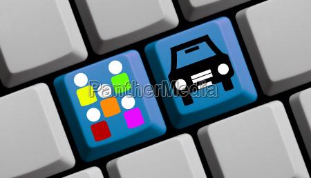 tastatur carsharing