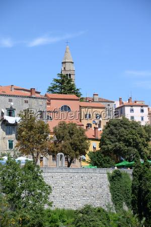 old town of labin croatia