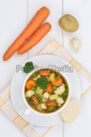 vegetable soup vegetables of fresh soup