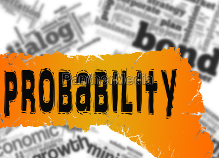 word cloud with probability word on