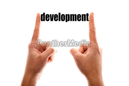 smaller development concept