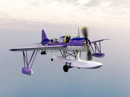 amerikanisches aufklaerungsflugzeug aus dem zweiten weltkrieg