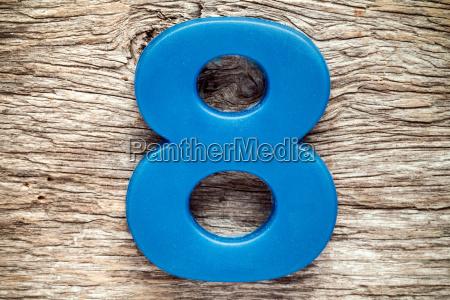 blau bildung ausbildung bildungswesen acht zahl