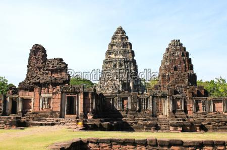 tempel ruin thailand ruine kastell verderben