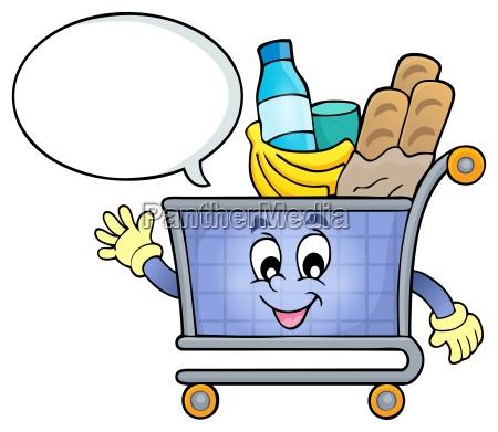 einkaufswagen thema bild 4