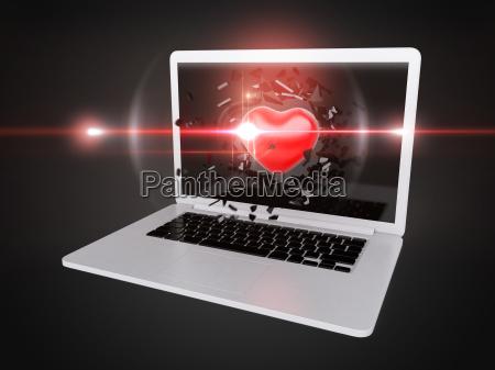 laptop notebook computer tastatur computertastatur objekt