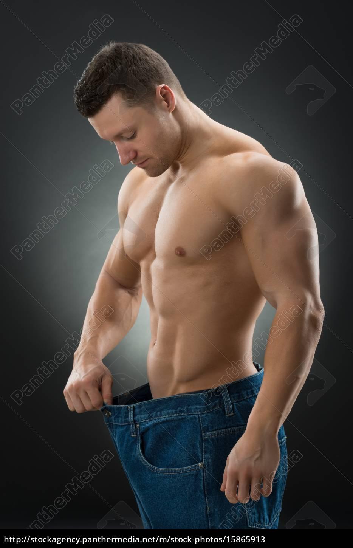 Gewichtsverlust durch Größe Mann