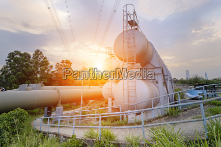 oil and gas industry refinery factory