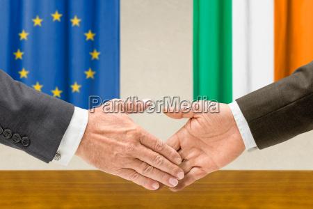 representatives of the eu and ireland