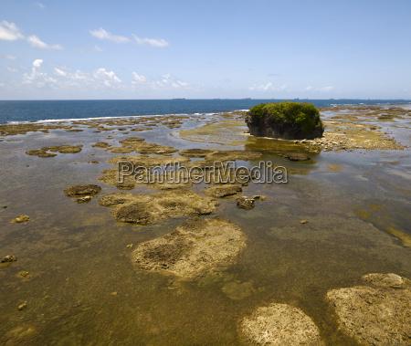 view of panama coastline on the