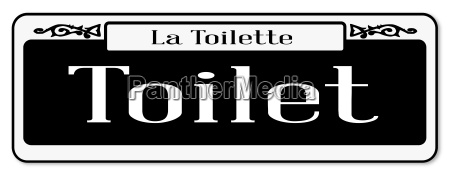 new orleans toilettenschild