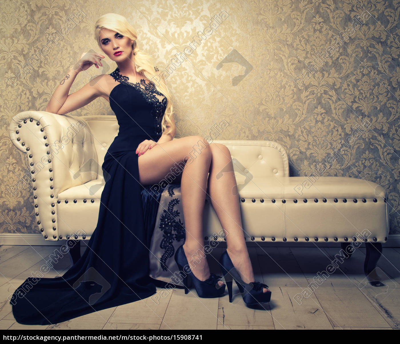 Abendkleider fur blonde frauen