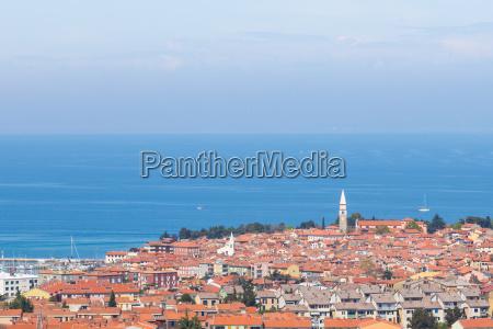 izola town mediterranean slovenia europe