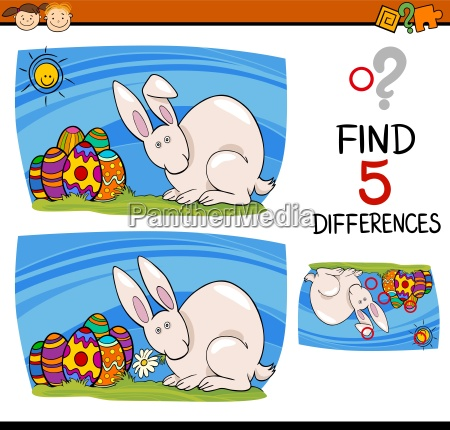 easter task of differences