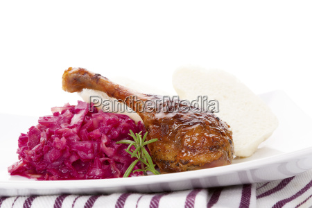 delicious roast duck