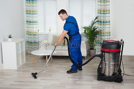 professionell hausmeister profi vakuum sauberer reinemachen