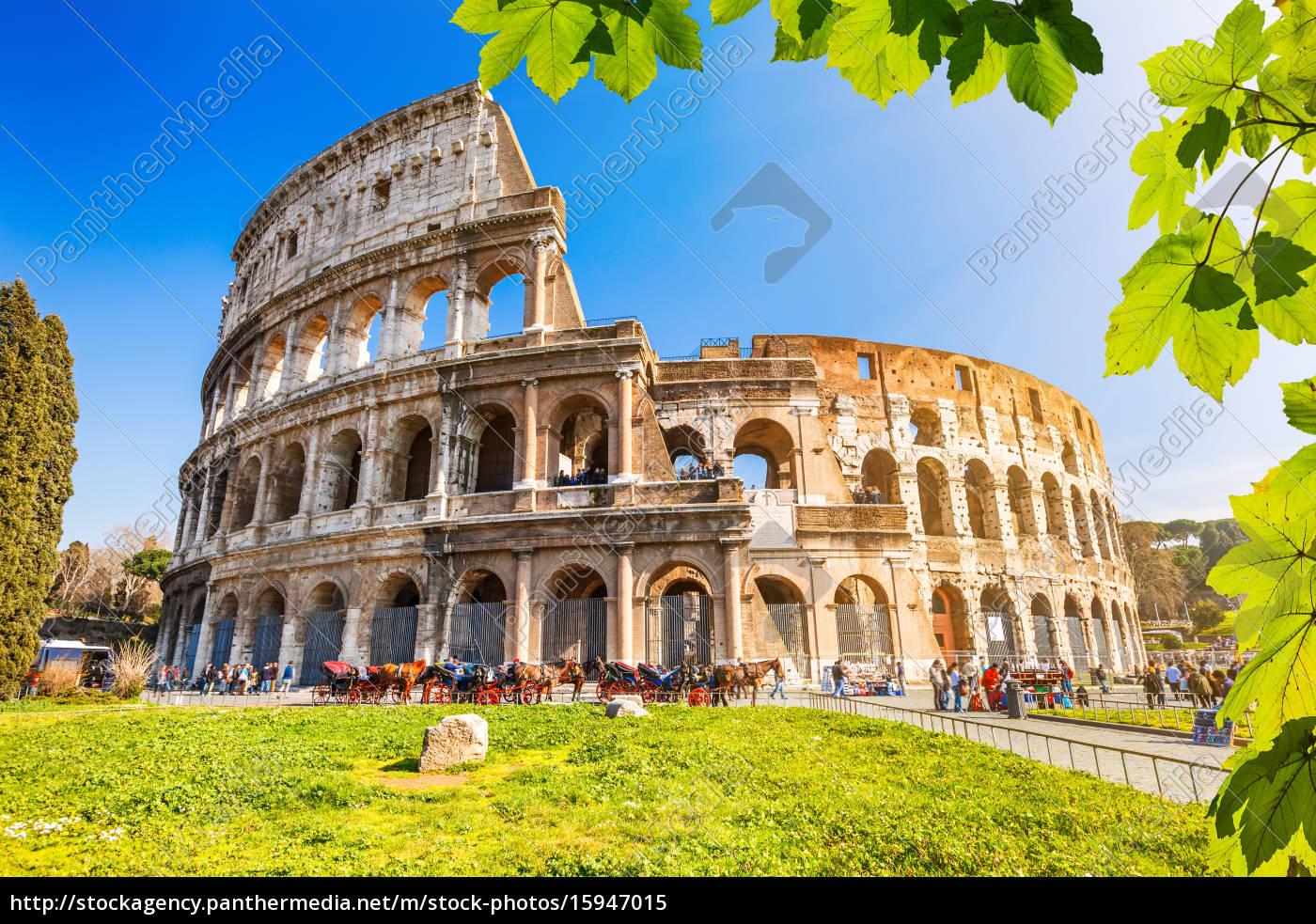 kolosseum, in, rom - 15947015