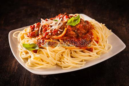 italian spaghetti bolognaise