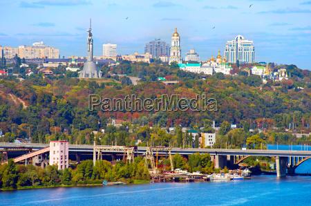 kyiv cityscape ukraine
