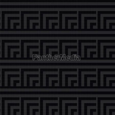 nahtloses abstraktes modernes schwarzweiss muster