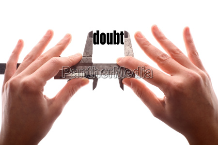 less doubt metaphor