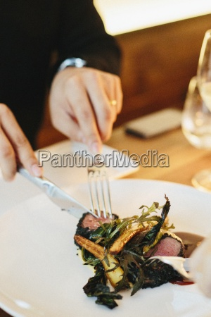 restaurante comida vida de la ciudad