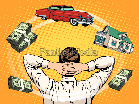 business traeume kaeufer haus auto einkommen