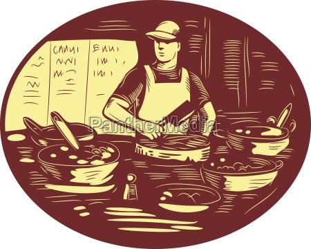 taco koch in essen stall oval