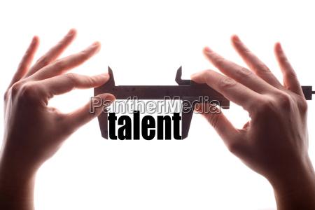 small talent concept