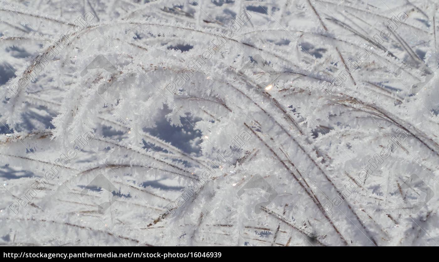 Winter, schnee, eis, Kristall, Schneekristalle, verschneit - 16046939