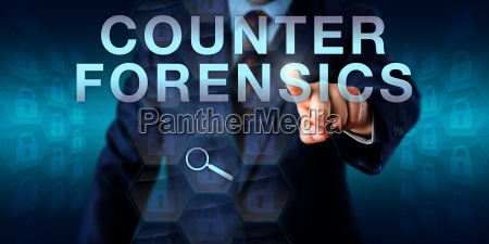 forensic examiner pushing counter forensics
