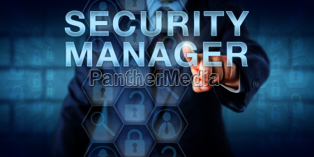 recruitment agent touching security manager